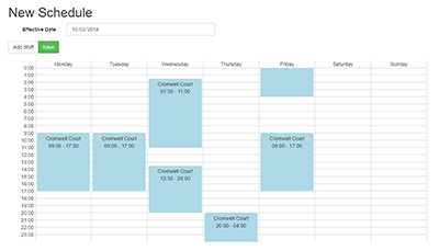 scheduling with liquid time