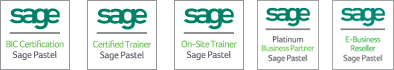 sage BIC Certification, Sage Pastel; Sage Certified Trainer, Sage Pastel; On-Site Trainer, Sage Pastelsage Platinum Business Partner, Sage Pastel; Sage E-Business Reseller, Sage Pastel
